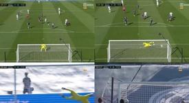 Eden Hazard débloque son compteur d'un superbe but. Capture/ZDOCU