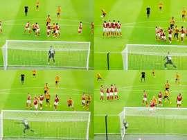 Kane marcó un gran gol de falta. Capturas/SkyBetChampionship