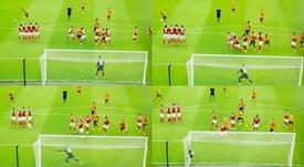 Kane scored a lovely free-kick. Capturas/SkyBetChampionship