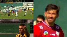 Peñarol respira y Defensor Sporting se enchufa. Captura/GolTV
