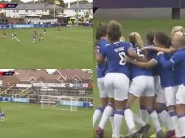 ¿Que en el fútbol femenino no hay golazos? Pasen y vean. Twitter/BarclaysFAWSL