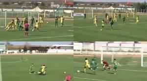 Jawneh corrió 90 metros para ganar el partido y luchar por la permanencia. Capturas/SC_ESPN