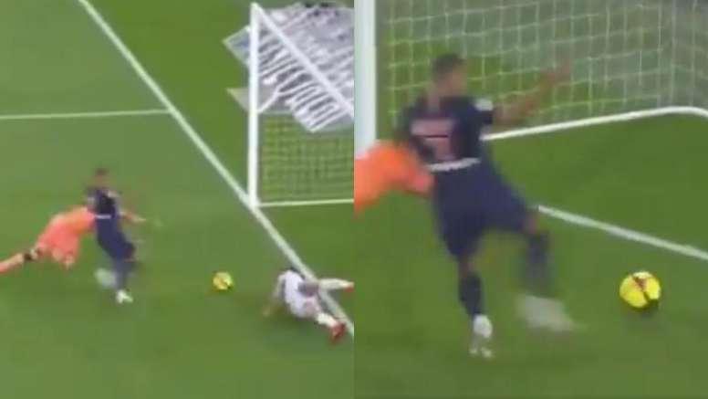 Mbappé a faim et va à la poursuite de Messi. Capture/beINSports