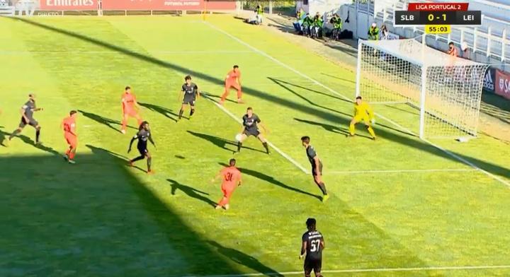 Joca imitó a Lamela en la Segunda portuguesa. Captura