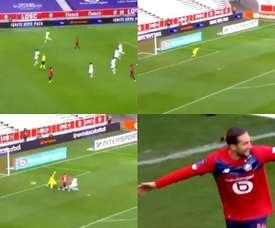 Yazici hizo el segundo en una contra. Captura/BeINSports