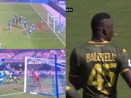 1.469 dias depois, Balotelli voltou a marcar na Serie A. Captura/beINSPORTS
