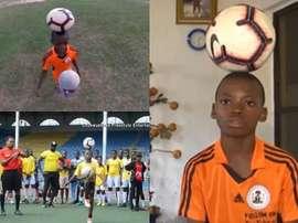 Nigerian boy breaks Guinness World Record. Twitter/DWEspañol