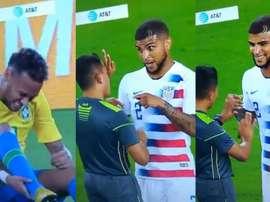 Le Mondial poursuit Neymar. Capture