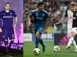 Cristiano earns more than De Ligt, Dybala, Donnarumma, Godin and Ribery put together. AFP