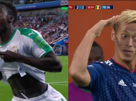 Wagué volvió a poner a Senegal por encima. DIRECTVSports