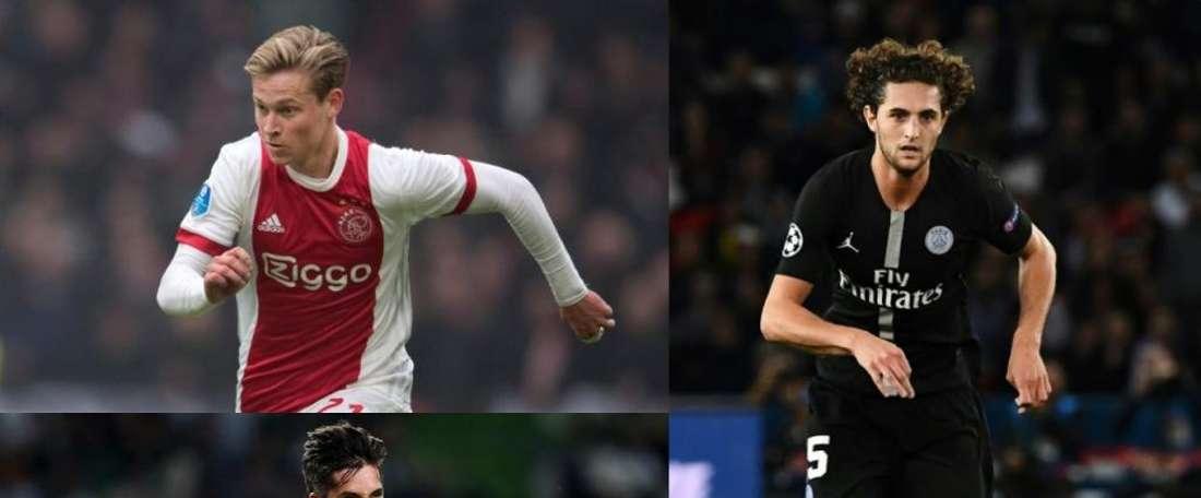 El City quiere a un centrocampista de calidad. EFE/AFP