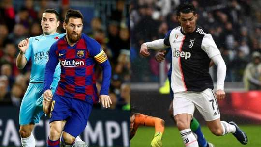 Messi e Ronaldo, separati e infelici. AFP