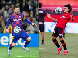 Messi and Romero have a lot in common. AFP/EFE