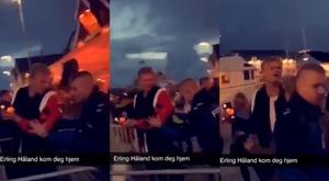 O motivo pelo qual Haaland foi expulso na boate. Captura/Nikolai