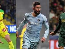 Des joueurs qui pourraient atterrir en Espagne. AFP/EFE