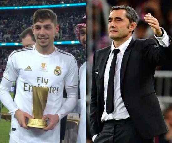 Fede et Ernesto, Valverde aux destins croisés. Movistar+/EFE