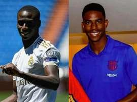 Mendy x Junior: comparamos os laterais de Real e Barça. AFP/EFE