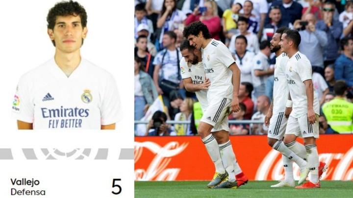 O Real Madrid vai inscrevendo seus jogadores. Captura/LaLiga/EFE