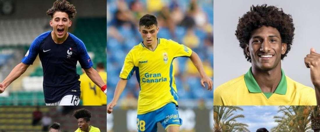 Les futures stars à suivre lors du Mondial U17. AFP/EFE