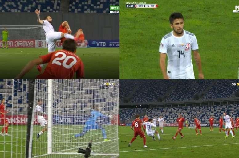 Tablas en el Dinamo Arena. Captura/SPORTTV2