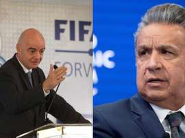 Equador, Colômbia e Peru querem organizar juntos a Copa do Mundo de 2030. EFE