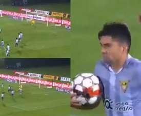 Premier but d'Enzo Zidane au Portugal malgré la défaite. Capturas/LIGANOS