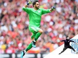 Bravo has left Manchester City. ManchesterCity