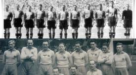 Cuando Hitler anexionó Austria y ellos dominaron el fútbol alemán. RapidViena/FirtsVienna