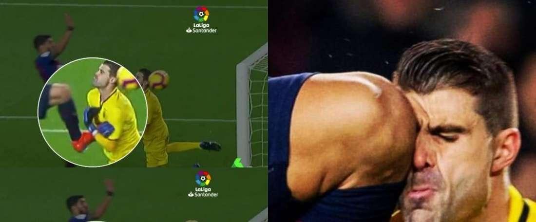 Cuellar and Suarez will see each other again. Captura/LaSexta/Instagram/ivan_cuellar_1