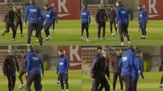 Il video del torello del Barcellona. BarçaTV