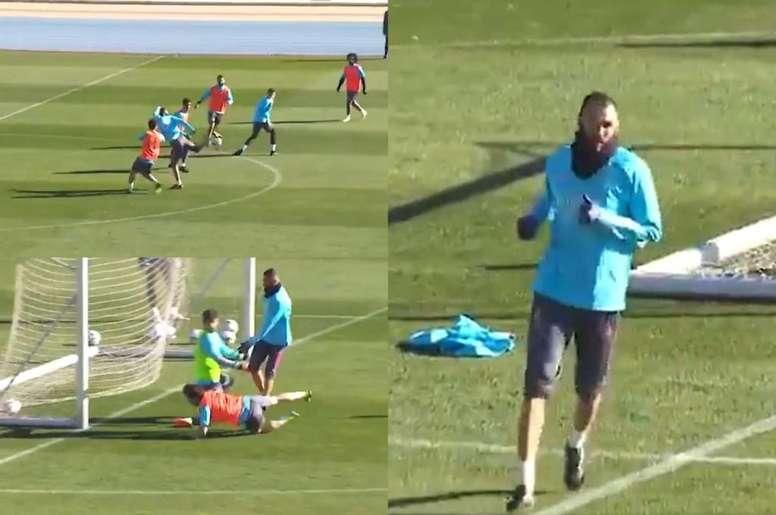 El Madrid se enfrenta al Athletic en la Supercopa. Twitter/KarimBenzema