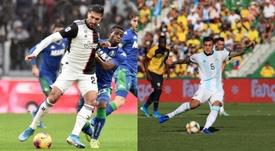 Emre Can y Paredes podrían intercambiar sus destinos. Juventus/Argentina