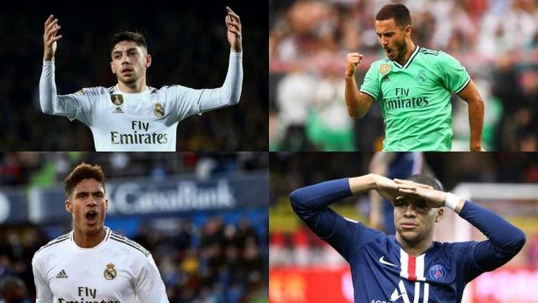 Zidane, un gran descubridor de talentos. EFE - AFP