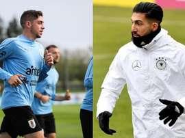 Valverde et Can, une utopie pour le Real Betis. EFE - AFP