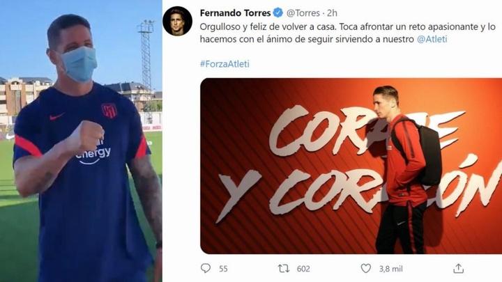 Comienza la etapa de Torres como entrenador. Captura/Twitter/SportsCenter/FernandoTorres