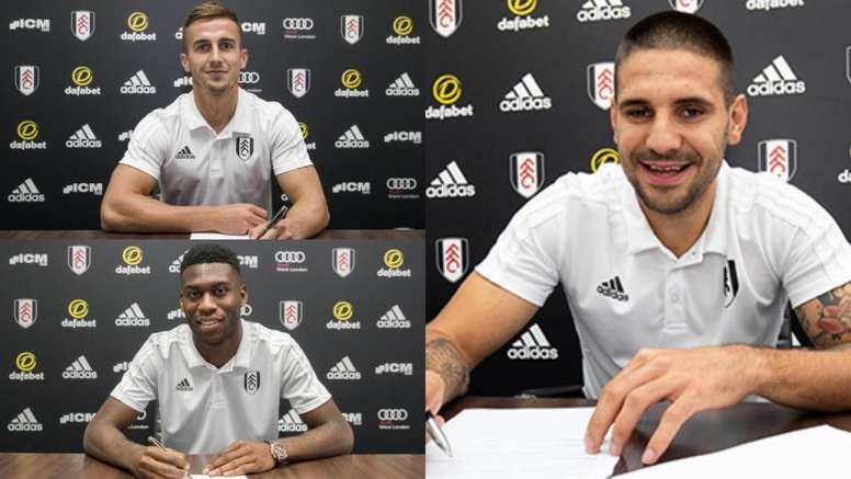 Tim Fosu-Mensah, Aleksandar Mitrovic and Joe Bryan were among the signings. BeSoccer/FulhamFC