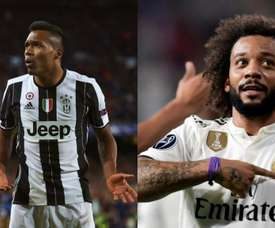 Sandro could go to PSG and Marcelo to Turin. EFE/AFP