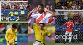 Los 'anónimos' que triunfaron en la Copa América. AFP/EFE