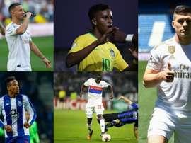 Cinq joueurs de nationalités différentes. EFE/AFP