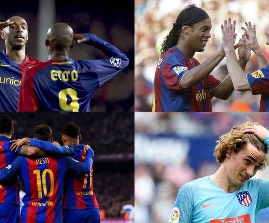 Le FC Barcelone veut créer une nouvelle armada offensive. EFE/AFP