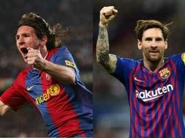 Messi, un genio de nuestro tiempo. AFP