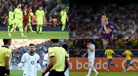 Messi et un cauchemar qui dure depuis deux mois. AFP/EFE