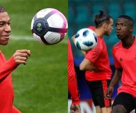 Vinicius et Mbappé sont parmi les candidats. EFE