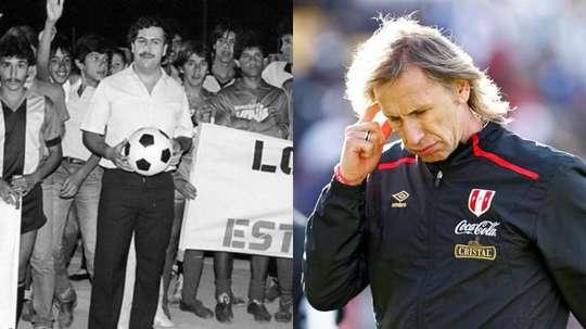 Escobar considered having Gareca killed. EFE