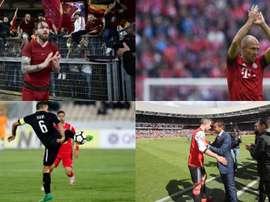 The legends retire. AFP/EFE