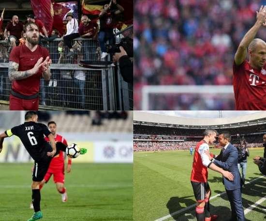 Cuando la pelota llora más que las leyendas. AFP/EFE