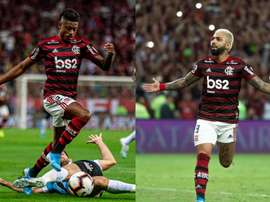Para Luizão,a dupla de ataque da Seleção deveria ter Gabigol e Bruno Henrique. Flamengo