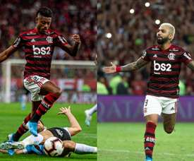 Gabigol-Bruno Henrique, a dupla que segue o ritmo de Messi e Suárez