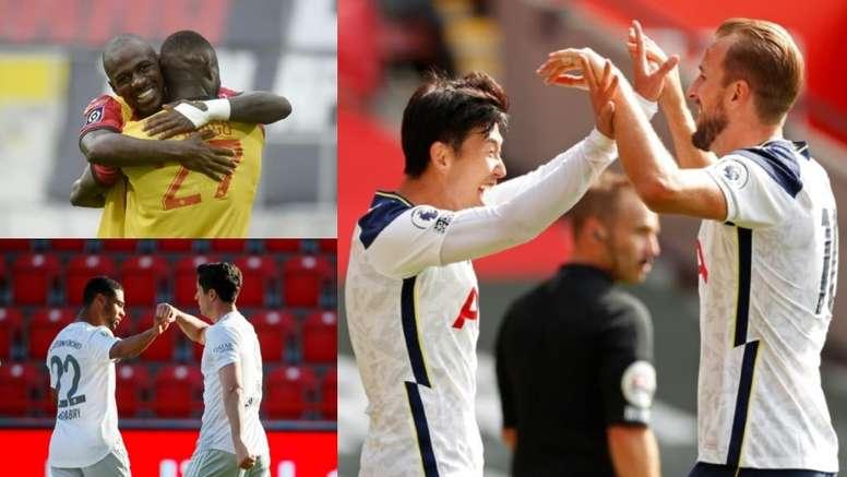 Cinque coppie di moda nel calcio europeo. AFP