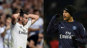 Bale-Neymar: a swap deal no one expected has reportedly started. EFE/AFP